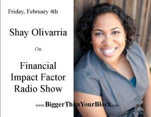 Image Shay on Financial Impact Factor Radio Show