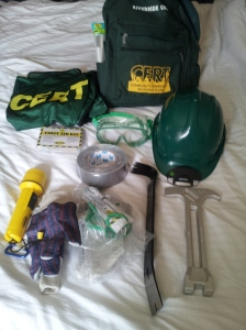 The materials provided free at the CERT Training.