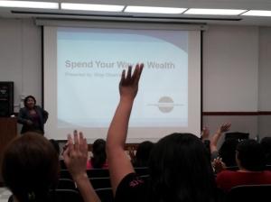 Shay Olviarria speaks at 2013 Adelante Mujer Latina Conference in Pasadena, CA.