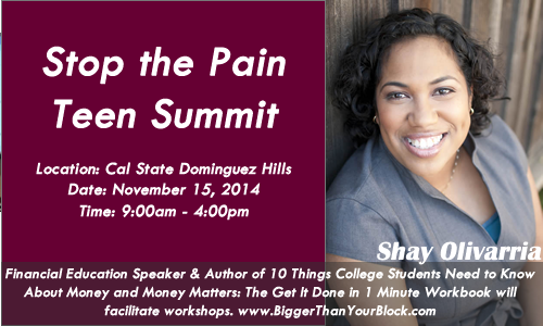 Stop-the-Pain-Teen-Summit-CSU-Dominguez-Hills-Shay-Olivarria