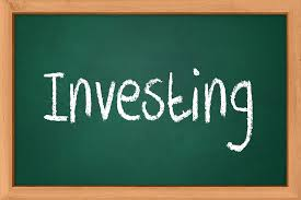 Investing - chalkboard